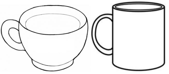 2 Hot Cocoa Cups Template 1