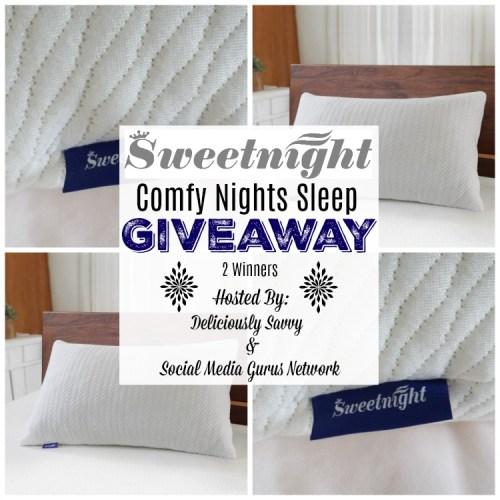 Enter and you could be one of two who will #WIN a Bamboo Charcoal Shredded Memory Foam Pillow when this Gift Guide #Giveaway ends 10/15.