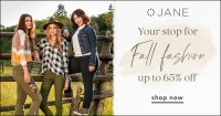 It's asale! Great looks, even better prices from our favorite daily deal site. Jane is offering the latest trends in fashion and home decor at some of the best prices of the year. #Sale #72HourSale #Fashion #Clothing #Fall #Autumn #Shoes #Accessories