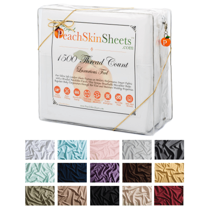 🎄 Enter and you could #WIN a set of PeachSkinSheets in your choice of size and color when this #SMGN Holiday Gift 🎁 Guide #Giveaway ends 12/13. @SMGurusNetwork @las930 @PeachSkinSheets