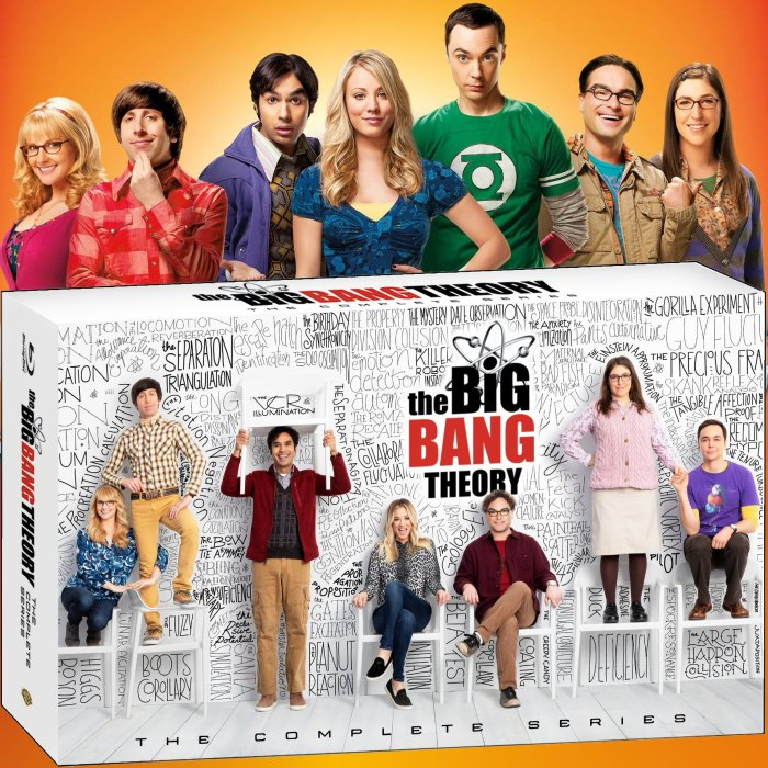 The Big Bang Theory: The Complete Series - Available Now on Digital and Blu-ray #BigBangTheory
