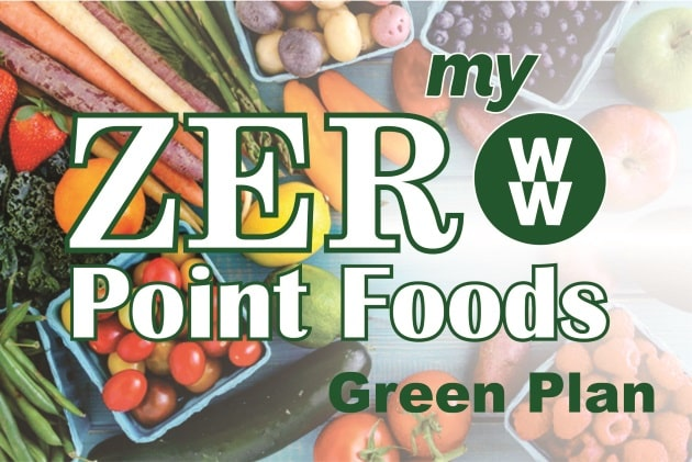 With myWW Green you've got the largest number of SmartPoints to spend on any food you choose, and 100+ ZeroPoint foods (fruits and non-starchy veggies) that are zero!