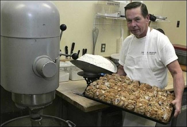 Legendary Jordan Marsh's Blueberry Muffin Baker John Pupek
