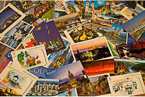 Why Postcards? Although you could share the same information in a text message, there's something special about sending a postcard to a friend or family member. #writing #business #realestate #postcard