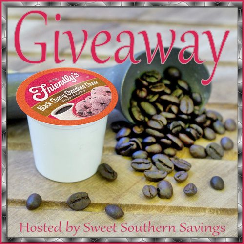 Friendly's Black Cherry Chocolate Chunk Ice Cream Flavored Coffee Giveaway Hosted by Sweet Southern Savings
