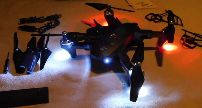 DEERC D10 Foldable Drone With Camera
