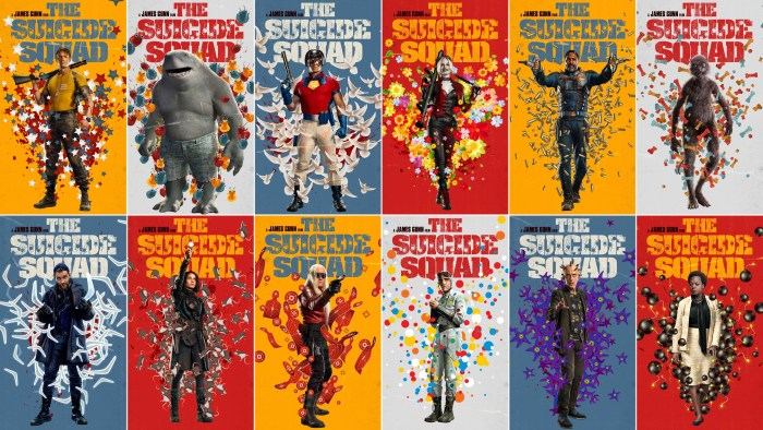 The Suicide Squad Posters