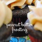 peanut butter frosting, best peanut butter frosting, sweet suppertime