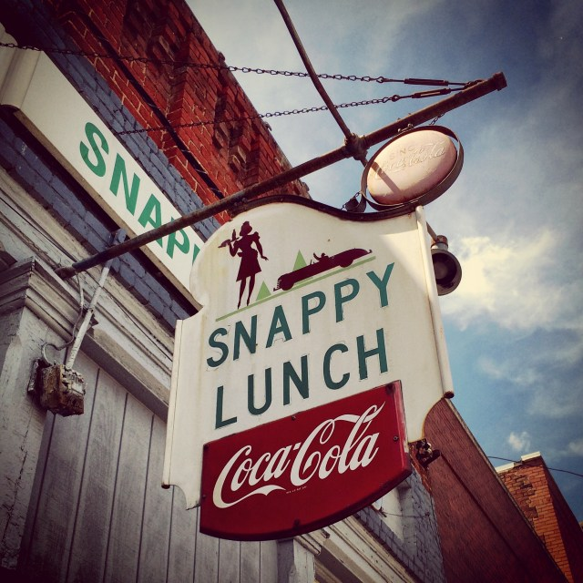 Snappy Lunch in Mayberry (Mount Airy)