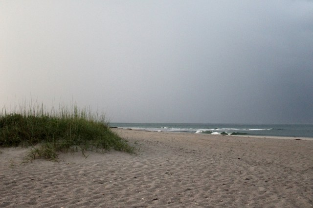 Storm Approaching the Shore