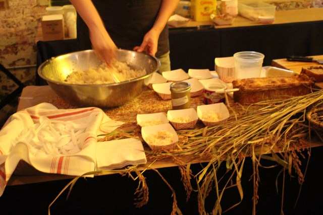 Carolina Gold Rice Prepared at the Table