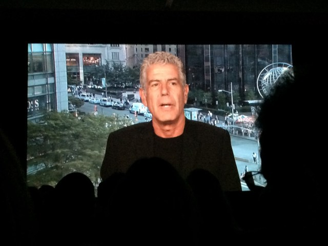 A Message from Bourdain