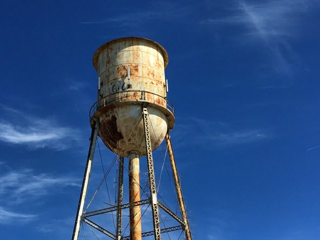Old Overhills Water Tower