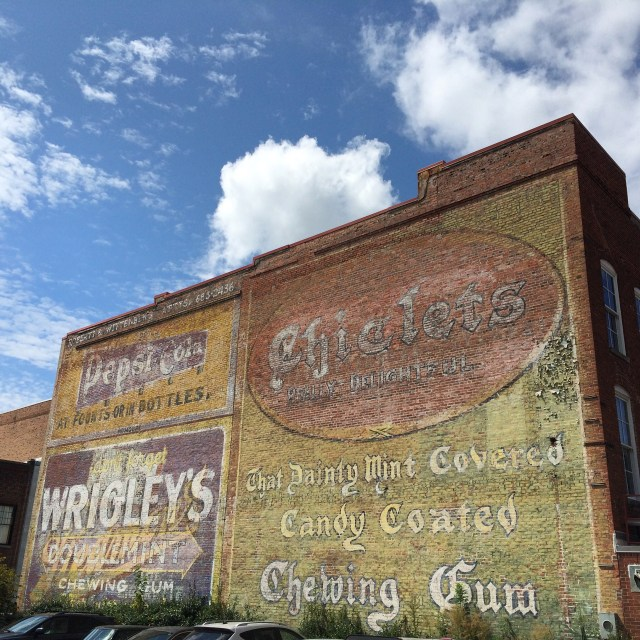 Ghost Sign on Parrish Street