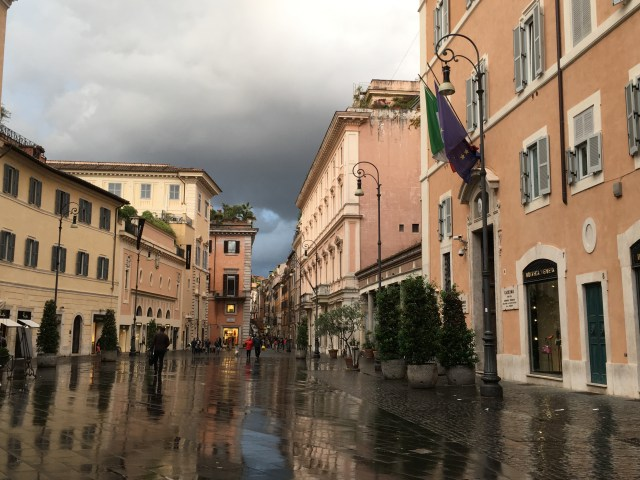 Piazza di San Lorenzo After the Storm