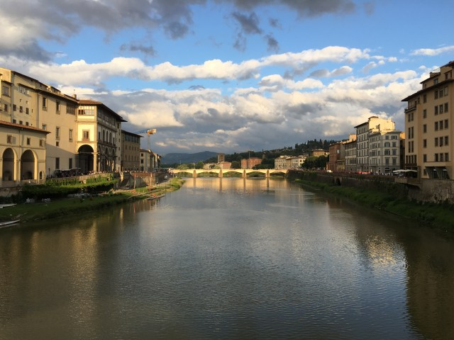 Overlooking the Arno River, Florence