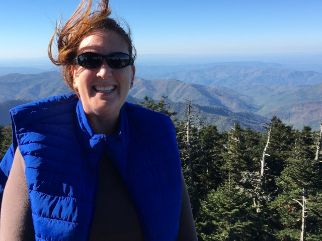 Slight breeze at the top of Clingman's Dome, Great Smoky Mountain National Park