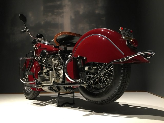 1941 Indian Model 441 Motorcycle