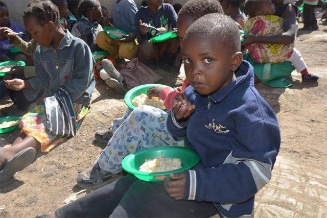 Feeding Children Source: Stop Hunger Now