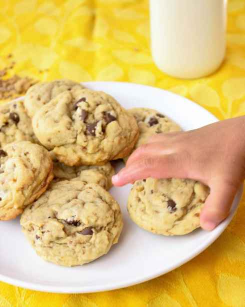 The Best Chocolate Chip Cookie Recipe - Sweet Tea & Thyme