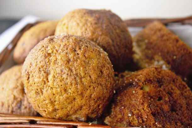 Banana Chocolate Chip Muffins - Sweet Tea & Thyme