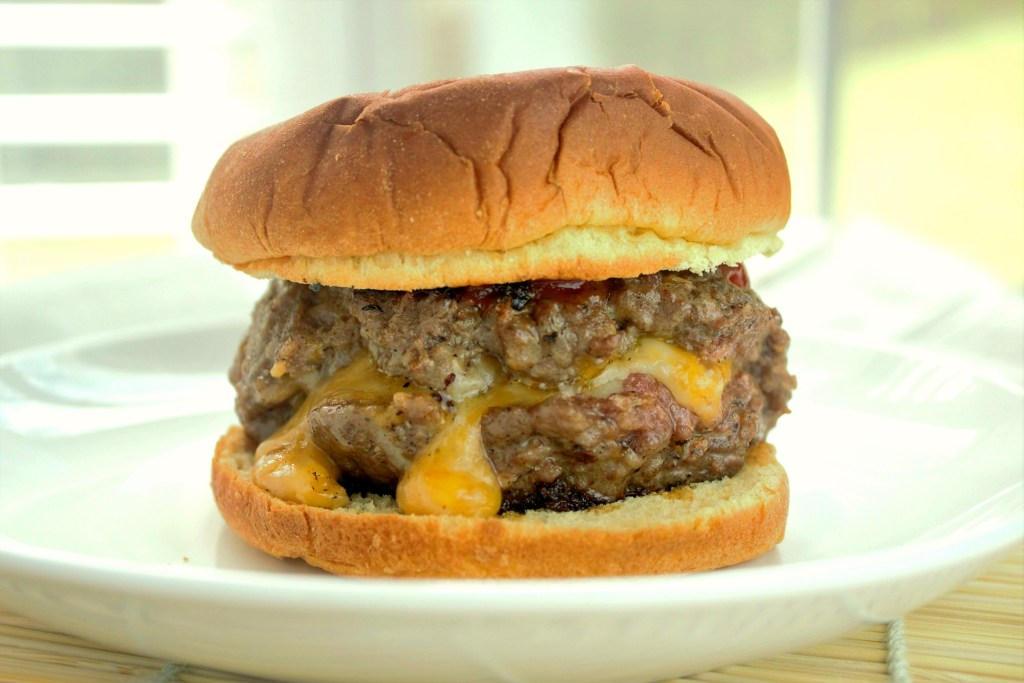 Juicy Lucy Burger - Sweet Tea & Thyme