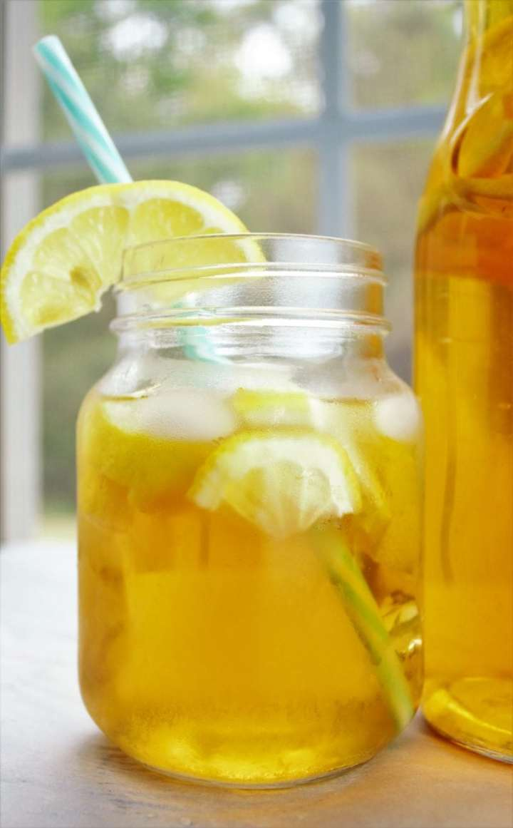 A Southern Belle secret revealed: the perfect glass of southern sweet tea. Sit on your porch and sip some of this all through the warm weather.