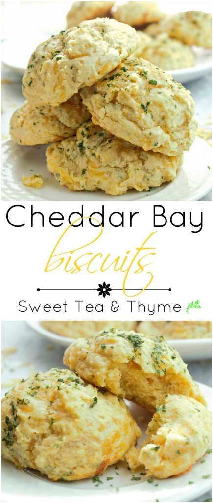 Cheddar Bay Biscuits - Sweet Tea & Thyme