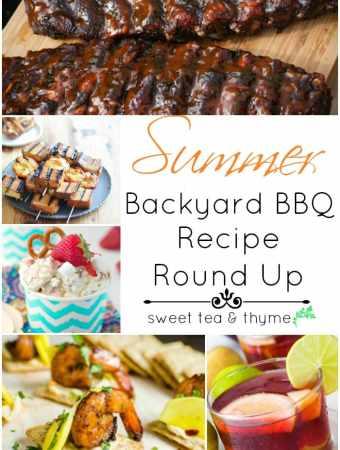 Summer BBQ Recipe Round Up - Sweet Tea & Thyme