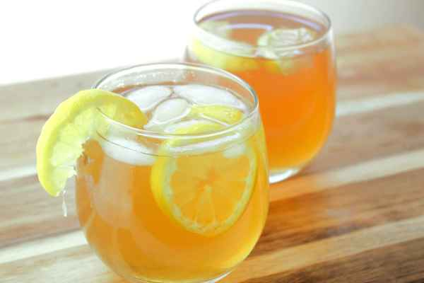 The Arnold Palmer, a mix of tea and lemonade, with a little Southern hospitality.