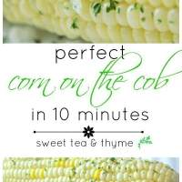 How to Make Perfect Corn on the Cob (in 10 minutes)