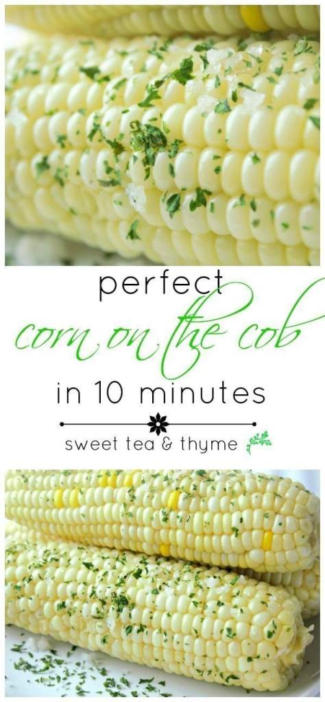 Perfect Corn on the Cob - Sweet Tea & Thyme