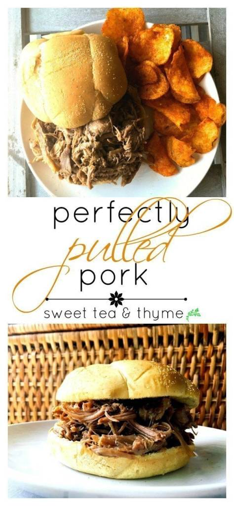 An easy, versatile pulled pork recipe that makes delicious pulled pork perfect for all your pulled pork needs (not just BBQ sandwiches!)