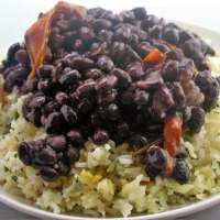Authentic Cuban Black Beans and Rice