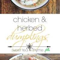 Chicken & Herbed Dumplings