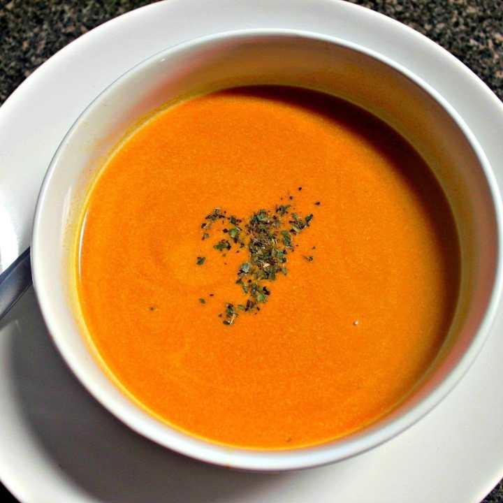 Creamy & Smooth Tomato Soup