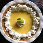 This is the perfect key lime pie! Tart and sweet, smooth, creamy and easy to make, it brings me back to Key West every time.