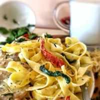 One-Pot Creamy Tuscan Chicken Pasta