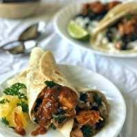 Huli Huli Chicken Wraps