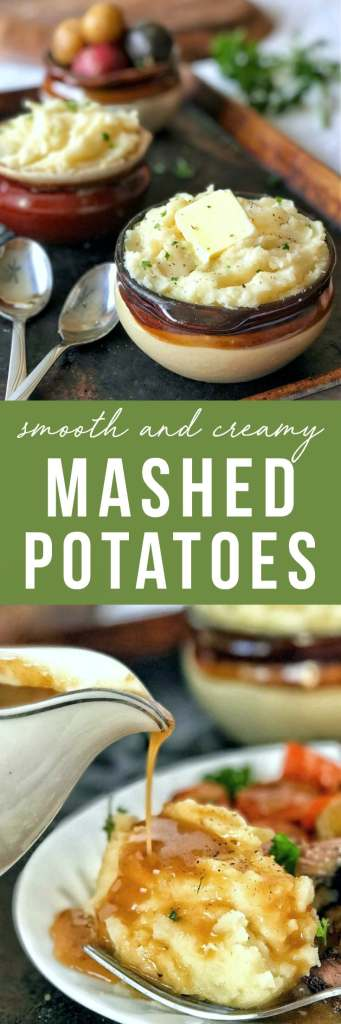 These creamy mashed potatoes are rich, creamy, and super smooth thanks to a secret, special ingredient that you may never go without again!