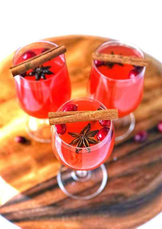 christmas tea punch is an easy holiday drink made even easier using cold brew tea and