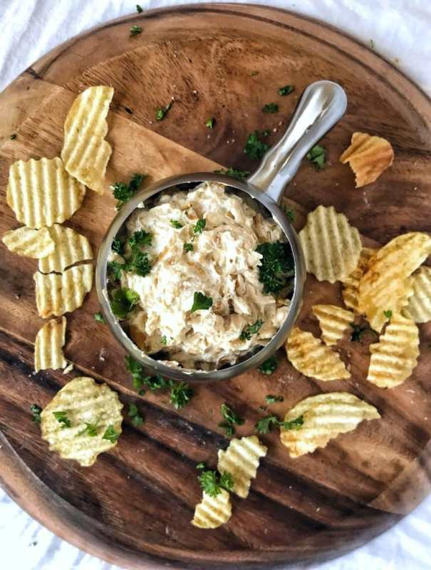 You will never believe how easy french onion dip is to make from scratch! Creamy, flavorful, and oh, so tasty. You'll be ditching the packets and store-bought stuff for good!