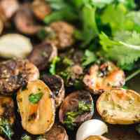 Chimichurri Potatoes