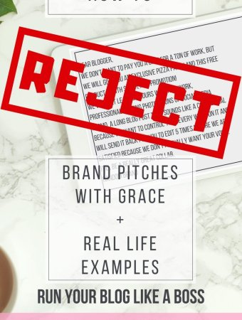 How to Reject a Brand Pitch like a BOSS +Various Real Life Examples