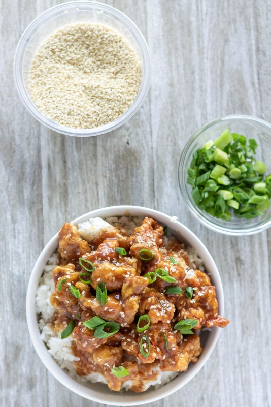 Skip the delivery and make tasty sesame chicken right at home in just over half an hour!