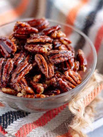 Stove-Top Candied Pecans