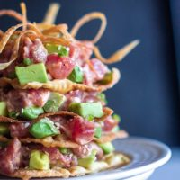 Spicy Tuna Avocado Towers