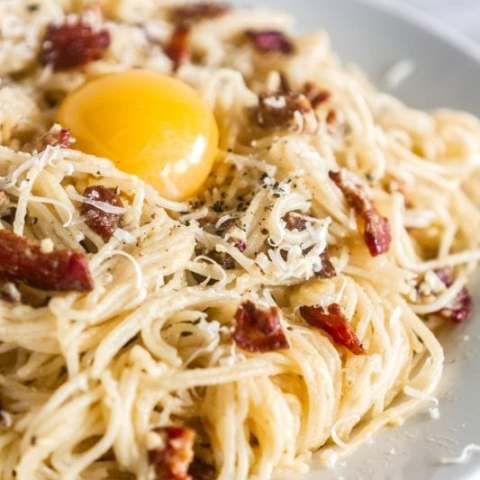 Authentic Spaghetti alla Carbonara