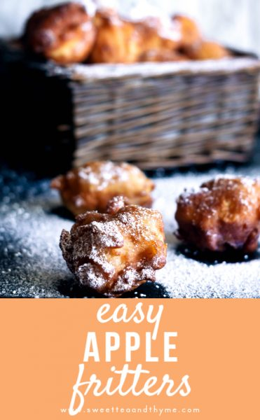 These homemade apple fritter doughnuts are easy, delicious, and full of cinnamon spice, apples, and that classic apple fritter doughnut taste. A perfectly sweet fall treat.