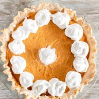 Sweet Potato Chiffon Pie
